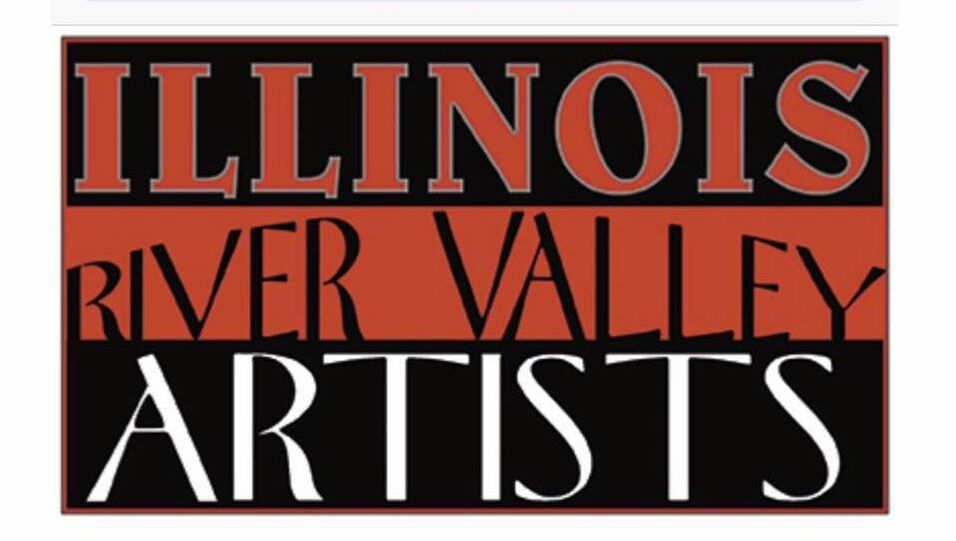 Illinois River Valley Artists Logo
